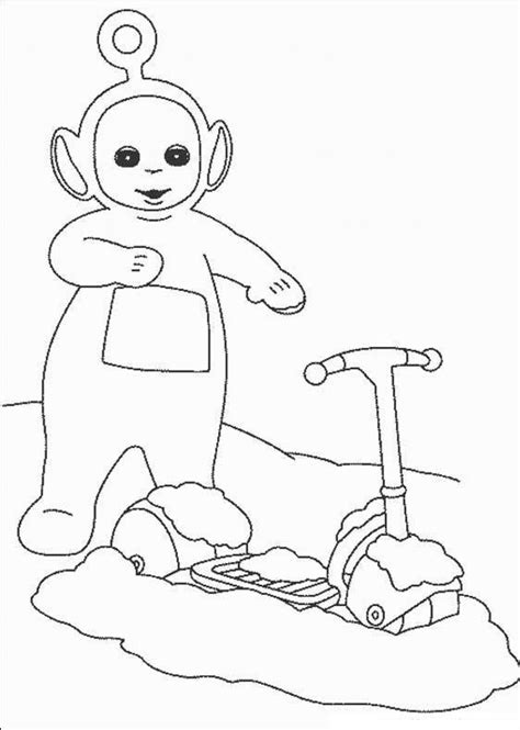 Free Printable Teletubbies Coloring Pages For Kids Printable For Toddlers