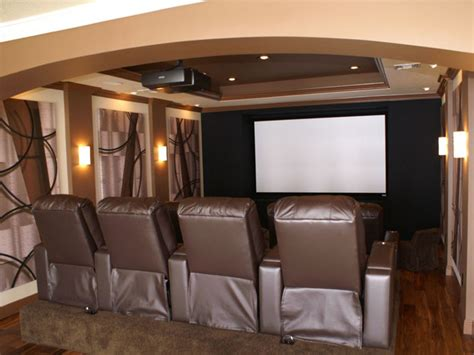 Small Home Theater Build Small Cinema Room Plan The House Decorating
