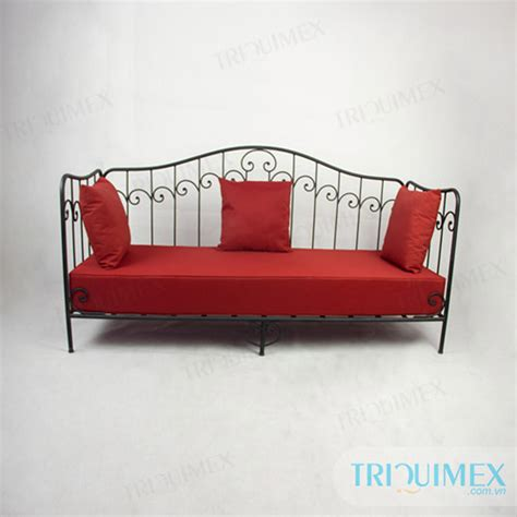 wrought iron sofa bed ceramic mosaic and wrought iron products for outdoor