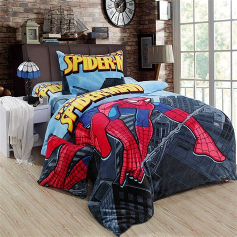 spiderman twin bedding set popular spiderman bedding queen size buy cheap spiderman
