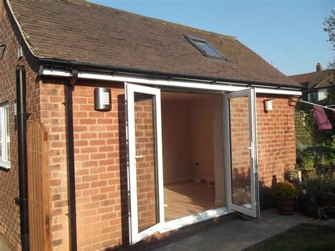 Detached Garage Conversion by Garage Conversion In Chesterfield Derbyshire By Sm