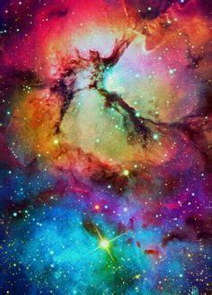 Galaxy Rainbow Deer a sparkly kinda rainbow galaxy background for edits backgrounds galaxy