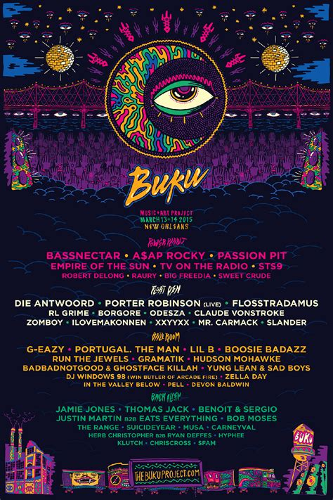 Buku Breaking The Time buku project 2015 returns march 13 14 to new orleans