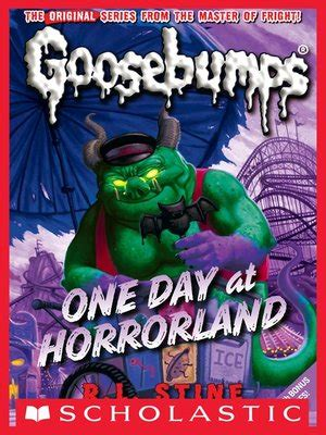 Ebook Goosebumps One Day At Horrorland Bonus Versi Indonesia one day at horrorland by r l stine 183 overdrive ebooks audiobooks and for libraries
