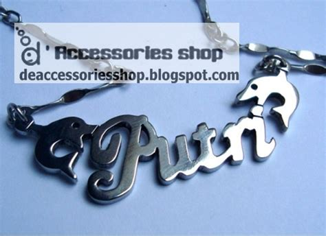 Gelang Plat Custom Nama d accessories shop contoh jadi kalung nama variasi part 2