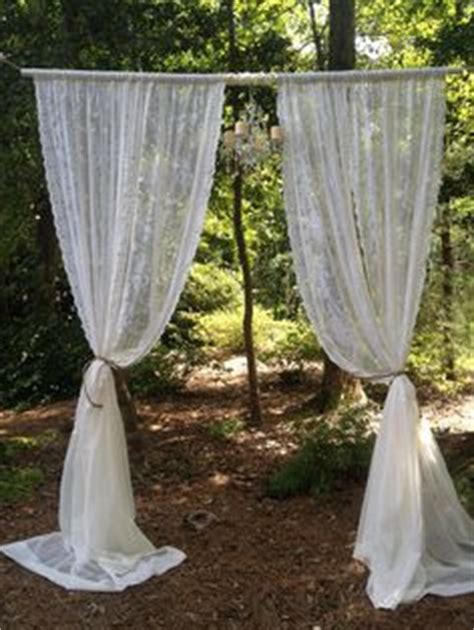 Wedding Arch Between Trees by Pvc Pipe Projects On 81 Pins On Pvc Projects
