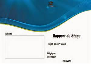 couverture rapport de stage word studio design