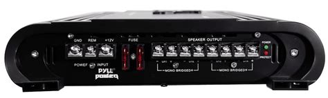 Mic Wireles Monitor Audio Ma4000 4chanel pyle pla4478 4 ch 4000 watts bridgeable mosfet lifier