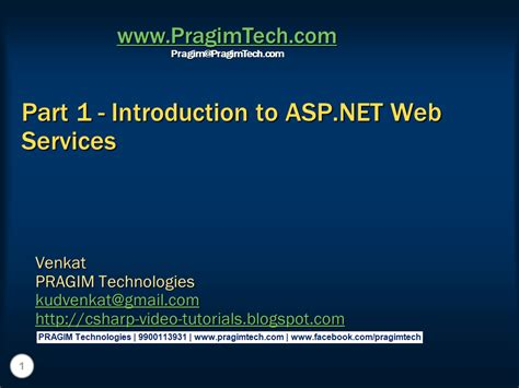 tutorial on web services in c sql server net and c video tutorial part 1