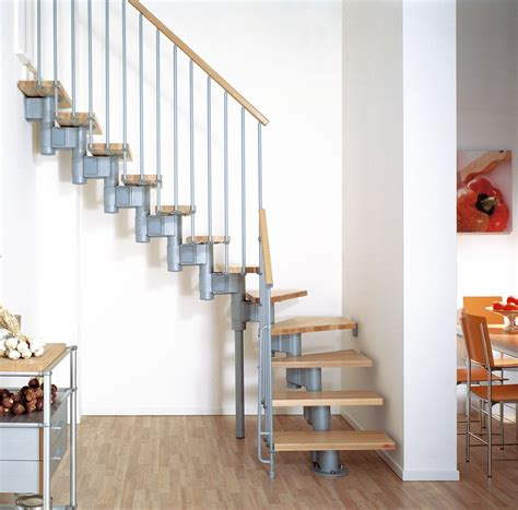 House With Mezzanine Floor Plan by Kompact Adjustable Staircase Kit Metal Steel And Wood
