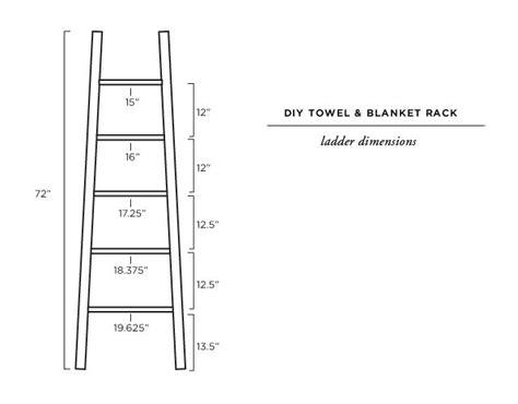 diy blanket ladder tutorial diy home decor diy blanket