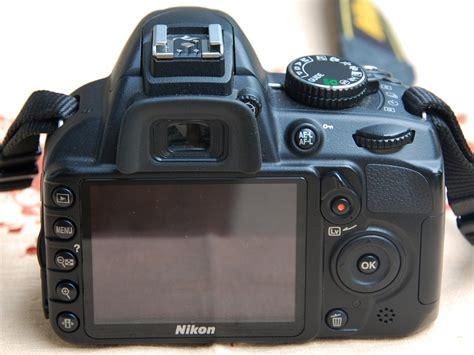 Kamera Dslr Nikon D3100 Di Batam d3100 tak belakang