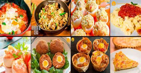 recetas de cocina de huevos recetas de huevos f 225 ciles y con v 237 deo