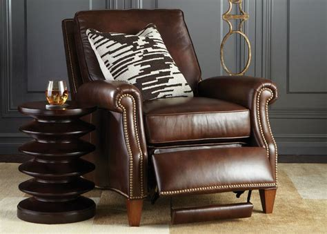 ethan allen brown leather recliner 30 best luxurious leather images on ethan