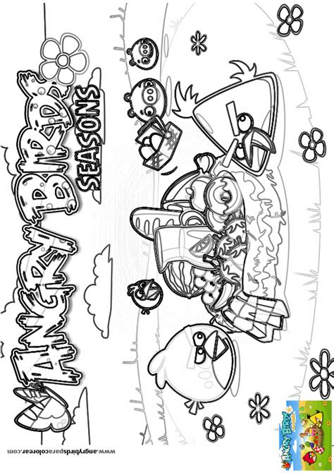 dibujos para colorear angry birds juegos de angry birds star wars 2 para colorear