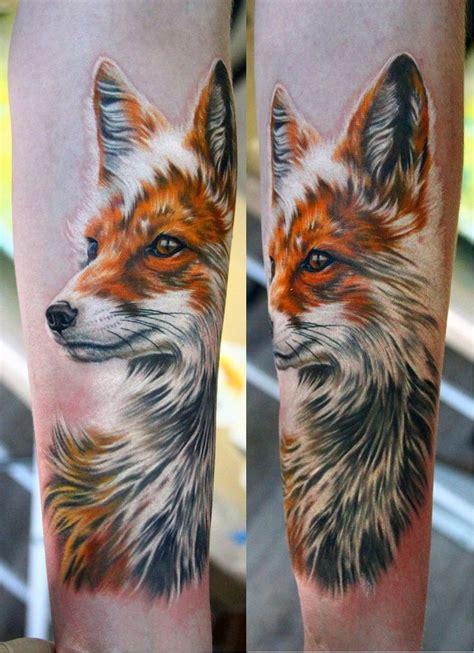 fox head tattoo 63 best fox tattoos design and ideas