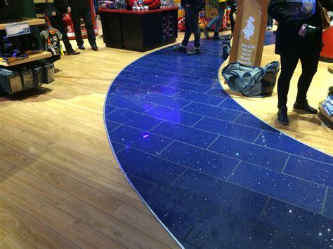 Disney Princess Floor Tiles - attention to retail disney store