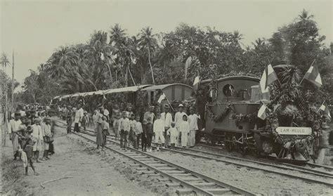 sejarah tato di indonesia taruna perhubungan sejarah perkeretaapian di indonesia