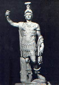 God Statue by Lenus Mars Und Der Martberg Die Goldene Landschaft