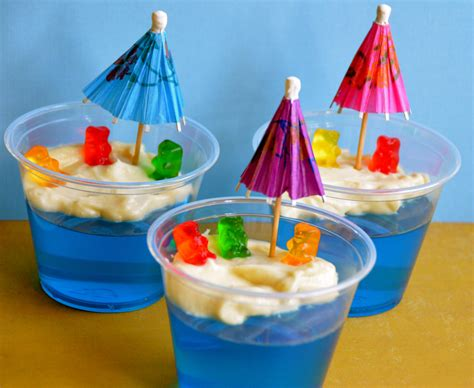 short and sweet jello custard bears at the beach i sing in the kitchen
