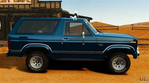 ford bronco 1980 ford bronco 1980 for gta 4