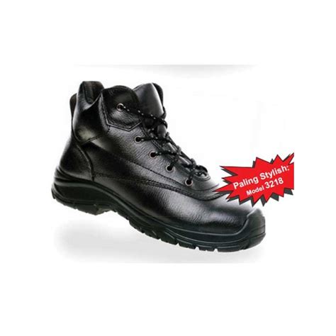 Sepatu Safety Rubber dr osha 2218 sepatu safety commando ankle boot nitrile rubber