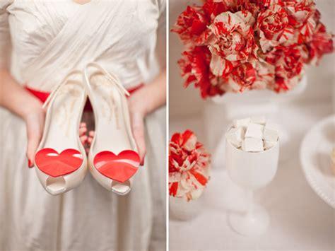 Valentines Day Weddings by Valentines Day Wedding Inspiration Ivory Wedding Shoes