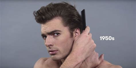 guys hairstyles through the years 100 years of haircuts authentic barber co