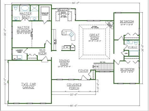 Master Bathroom Floor Plans With Walk In Closet by Bathroom Floor Plans With Closets Regarding Household