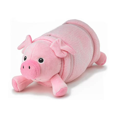 Best Pillow Pets by Pink Pig Plush Pet Pillow With Blanket Nap Mat Cover