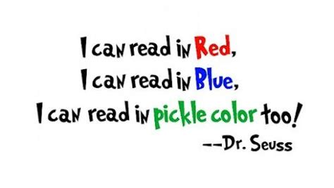 blue i can i can read in i can read in blue i can read in pickle