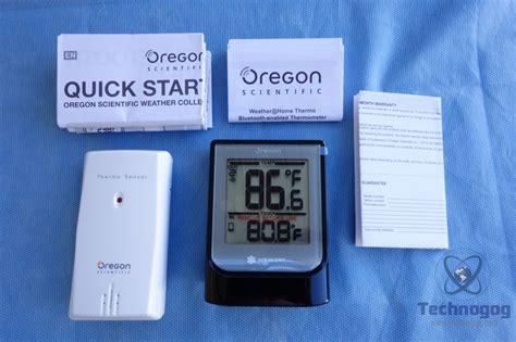 review of oregon scientific weather home thermo bluetooth