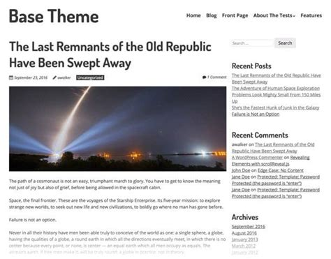 themes compatible with page builder introducing sitepoint base theme for wordpress sitepoint