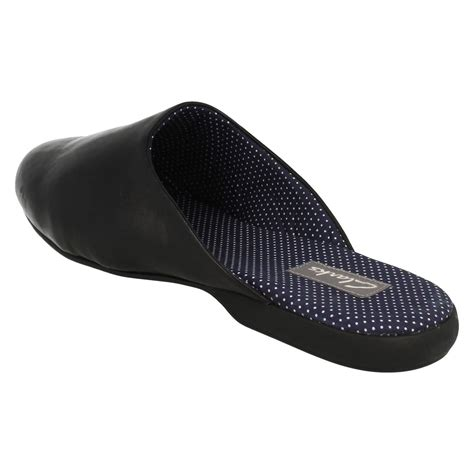 mens slide slippers mens clarks leather slip on mule slippers harston slide