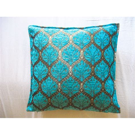 cusion covers turquoise ottoman cushion cover