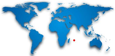 mauritius on a world map where is mauritius location map of the island