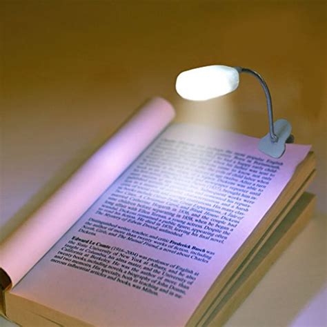 clip on book lights for reading book light for reading in bed by liteqo led book light