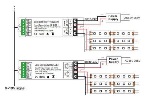 0 10v dimming led diagram 25 wiring diagram images