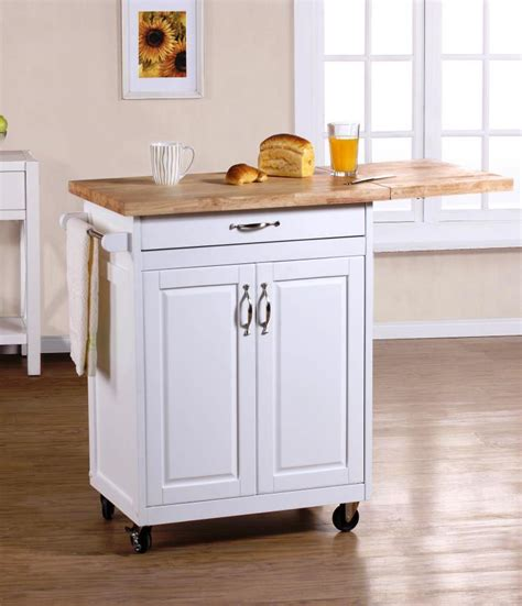 Kitchen Islands Portable Portable Kitchen Islands In 11 Clean White Design Rilane