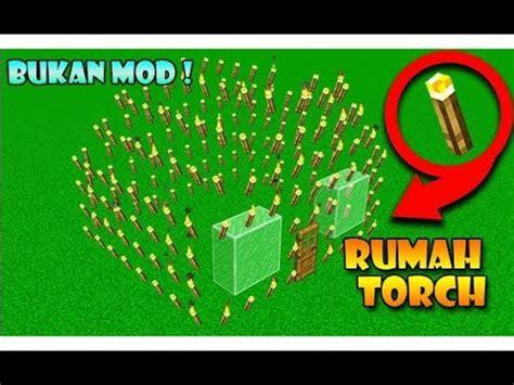 cara membuat mod game java cara membuat rumah dari torch tanpa mod mudah banget