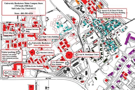 Of Utah European Mba Program by Of Utah Parking Map Adriftskateshop