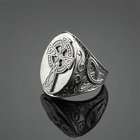 s 925 sterling silver triquetra celtic cross
