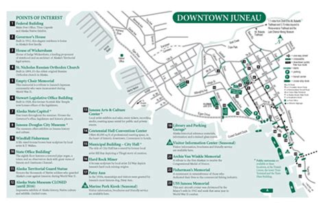 seattle to juneau map downtown map of juneau alaska pdf alaska