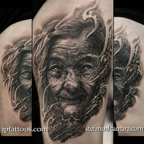 dark water tattoo stefano alcantara and jose perez jr collaboration by