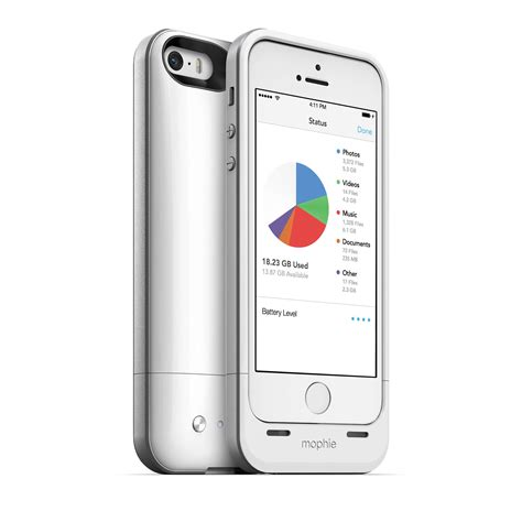 H Iphone 5s by Mophie 32gb Space Pack For Iphone 5 5s White 2618 B H Photo