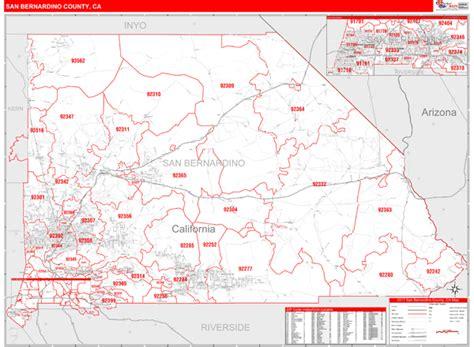us area code 235 san bernardino county ca zip code maps line style