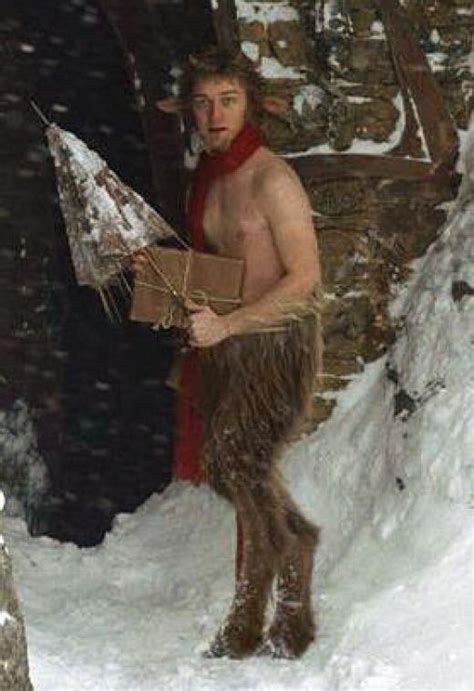 film like narnia mr tumnus from the film narnia fauns satrys and horned