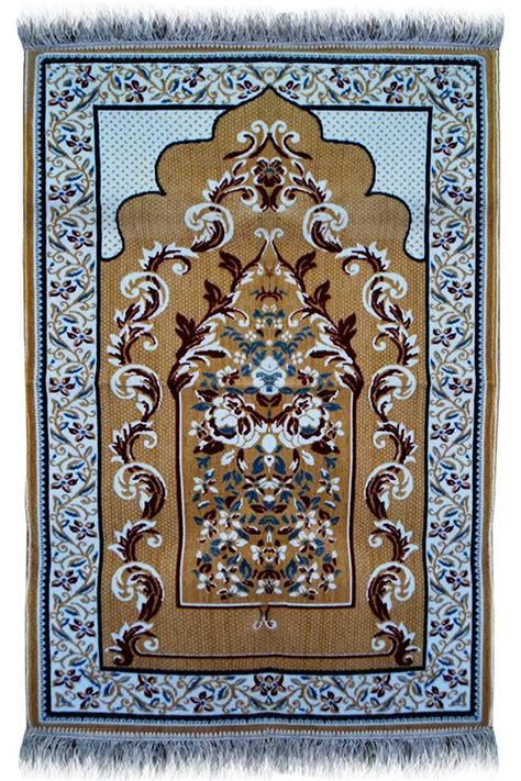 janamaz plush velvet muslim prayer rug  turkey