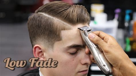 how to do a hard part on a boys haircut comb over hairstyle tutorial hair