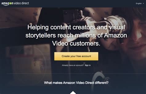 amazon video direct amazon targets content creators with amazon video direct